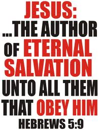 Jesus saves those who obey him
