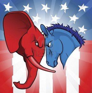 We understand that this means Republican vs. Democrat...but would people understand that 2,000 years from now?